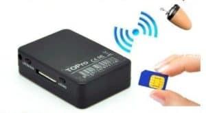 AURICULAR ESPÍA + CAJA INDUCTORA TELÉFONO MÓVIL GSM PARA EXAMEN