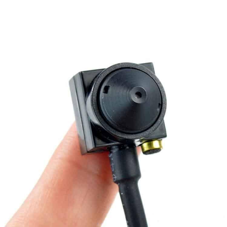 MINI CÁMARA 1000TVL 1080P RCA CCTV TIPO PINHOLE PARA OCULTAR
