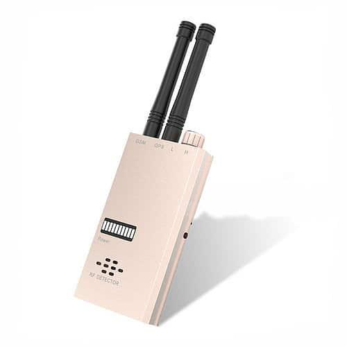 DETECTOR DE RADIOFRECUENCIA PROFESIONAL GSM GPS 1~6000 MHZ ALTA SENSIBILIDAD