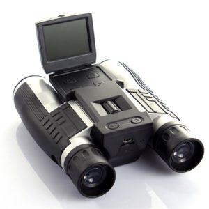PRISMÁTICOS BINOCULARES DIGITAL 12X CON CÁMARA FULL HD PANTALLA LCD Y GRABACIÓN EN MICRO SD