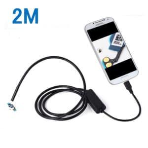CÁMARA ENDOSCÓPICA BOROSCÓPICA MICRO USB 2 METRO 5 MM DE DIÁMETRO SUMERGIBLE SMARTPHONE TABLET ANDROID