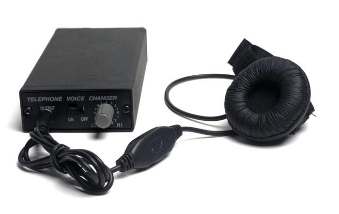 CAMBIADOR DE VOZ TELEFÓNICO PROFESIONAL CON 14 VOCES