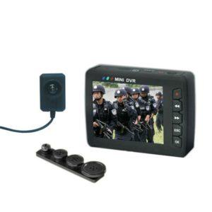 CÁMARA ESPÍA PROFESIONAL OCULTA EN BOTÓN O TORNILLO + DVR GRABADOR LCD
