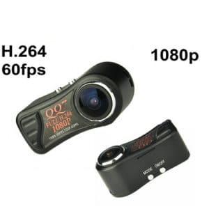 MINI CÁMARA DV FULL HD 1080P H.264 MOV 60FPS 185º GRAN ANGULAR