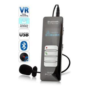 GRABADORA DE VOZ BLUETOOTH PROFESIONAL GRABA LLAMADAS DE TELÉFONO MOVIL 8GB