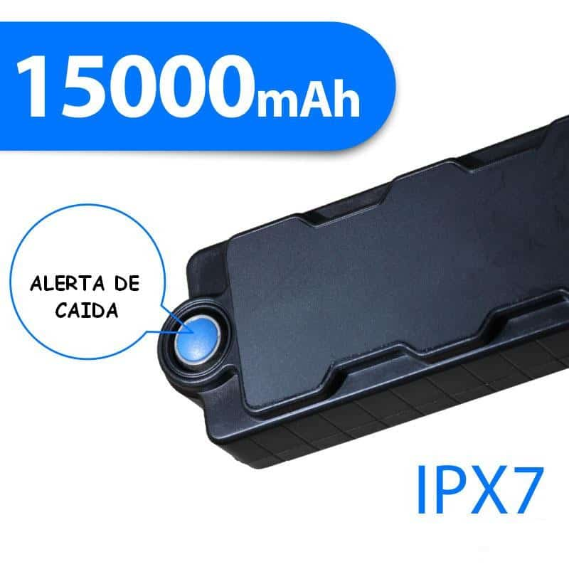 LOCALIZADOR GPS GSM LAPA PROFESIONAL DETECTOR DE CAÍDA  HASTA 1100 DÍAS