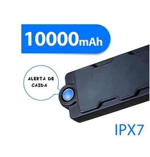 LOCALIZADOR GPS GSM LAPA PROFESIONAL DETECTOR DE CAÍDA O MANIPULACIÓN HASTA 700 DIAS