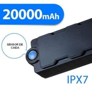 LOCALIZADOR GPS GSM LAPA PROFESIONAL DETECTOR DE CAÍDA HASTA 1600 DIAS