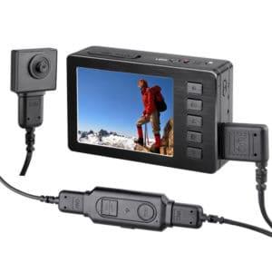 CÁMARA ESPÍA OCULTA EN BOTÓN TORNILLO PROFESIONAL FULL HD 1080P 60FPS 1,5 METROS DE CABLE + DVR PORTÁTIL HDMI CON CONTROL REMOTO