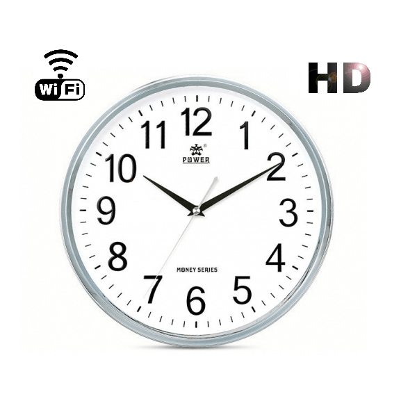 CÁMARA ESPÍA WIFI P2P IP OCULTA EN RELOJ DE COCINA HD 720P GRABACIÓN SD
