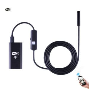CÁMARA ENDOSCÓPICA BOROSCÓPICA HD 720P 2 MEGAPIXEL INALÁMBRICA WIFI 2 METRO 8 MM DE DIÁMETRO SUMERGIBLE SMARTPHONE IPHONE ANDROID