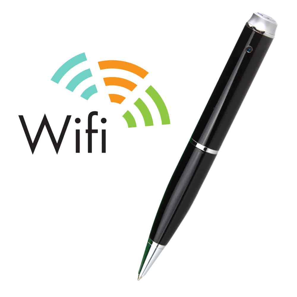 BOLÍGRAFO ESPÍA CON CÁMARA WIFI FULL HD 1080P H.264 IOS ANDROID 16GB