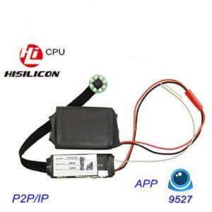 MÓDULO CÁMARA ESPÍA INALÁMBRICA WIFI P2P FULL HD 1080P 5 MEGAPIXEL CPU HISILICON GRABACIÓN MICRO SD ANDROID IPHONE VISIÓN NOCTURNA