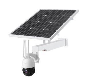 CÁMARA VÍDEO VIGILANCIA MOTORIZADA ZOOM 30X CCTV 3G 4G WIFI CON PLACA SOLAR AUTÓNOMA