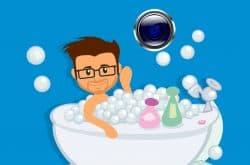 ¿Podemos instalar una cámara espía en el baño?