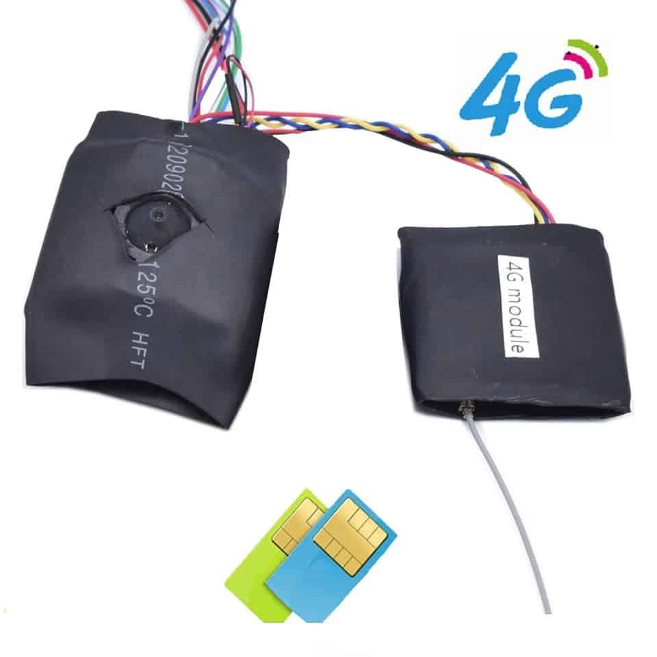 CÁMARA ESPÍA 4G 3G PARA VIGILANCIA REMOTA PROFESIONAL