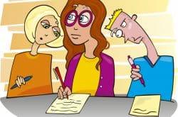 Consejos para copiar en un examen