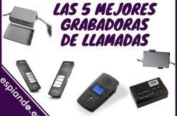 Las 5 mejores grabadoras de llamadas