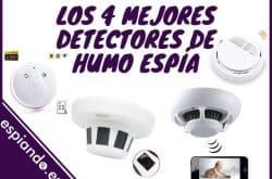 Los 4 mejores detectores de humo con cámara oculta
