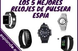 Los 5 mejores relojes de pulsera espía